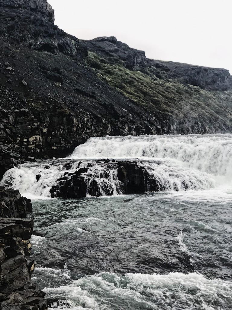 Islanda - Golden Circle Cerchio d'Oro - Cascata Gullfoss 2
